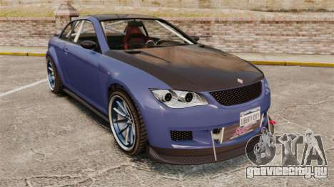 GTA V Sentinel XS Street Tuned Edit для GTA 4