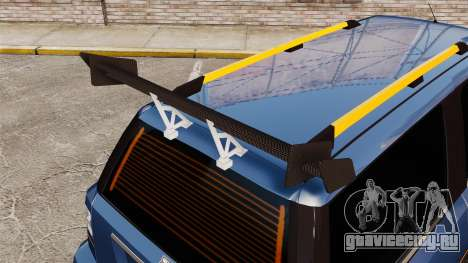 Extreme Spoiler Adder 1.0.4.0 для GTA 4 восьмой скриншот