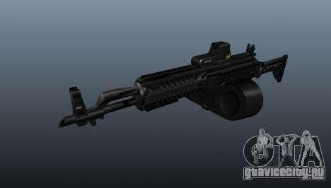 Автомат AK-47 Tactical Gunner для GTA 4