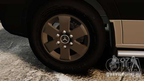 Mercedes-Benz Sprinter 2500 2011 v1.4 для GTA 4 вид изнутри