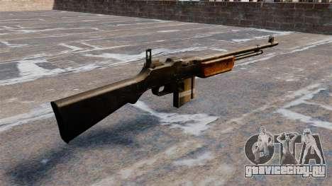 Автоматическая винтовка Browning M1918 для GTA 4 второй скриншот