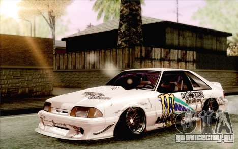 Ford Mustang SVT Cobra 1993 Drift для GTA San Andreas