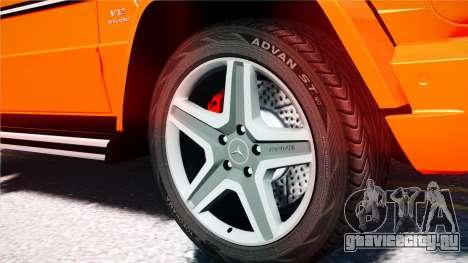 Mercedes-Benz G65 AMG 2013 для GTA 4 вид сзади