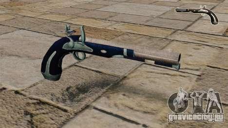 Кремневый пистолет для GTA 4