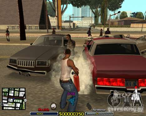 C-HUD by qrt для GTA San Andreas второй скриншот