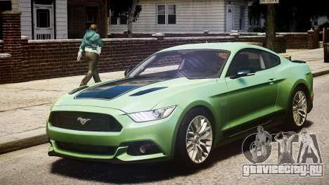 Ford Mustang GT 2015 для GTA 4