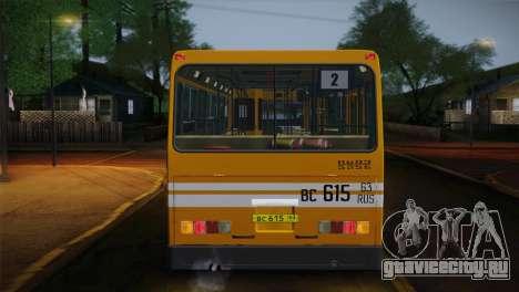 ЛиАЗ 5256.00 для GTA San Andreas салон