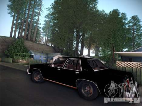 Ford LTD Crown Victoria 1985 для GTA San Andreas вид справа