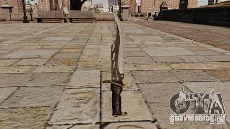 Элитный боевой нож Raider Blade для GTA 4