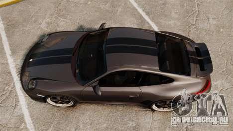 Porsche 911 Sport Classic 2010 для GTA 4 вид справа