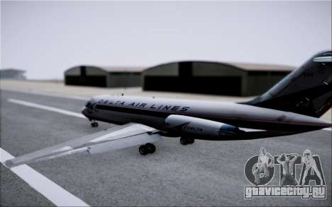 McDonnel Douglas DC-9-10 для GTA San Andreas салон