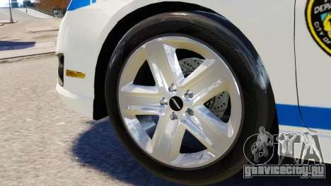 Ford Fusion LCPD 2011 [ELS] для GTA 4 вид изнутри