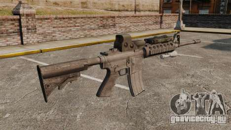 Автомат M4 SOPMOD v3 для GTA 4 второй скриншот
