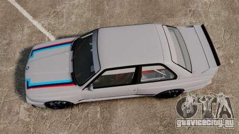 BMW M3 1990 Race version для GTA 4 вид справа