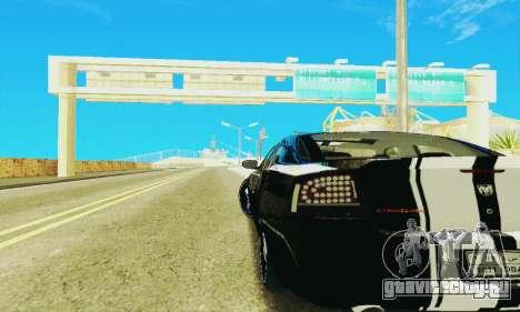Dodge Charger DUB для GTA San Andreas вид изнутри