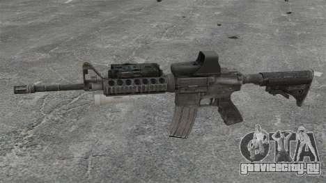 Автомат M4 SOPMOD v3 для GTA 4 третий скриншот