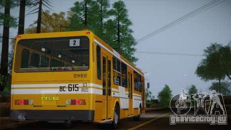 ЛиАЗ 5256.00 для GTA San Andreas колёса