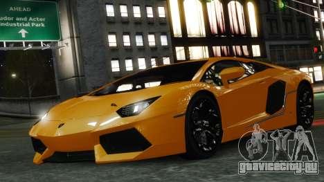 Lamborghini Aventador LP700-4 [EPM] 2012 для GTA 4 салон