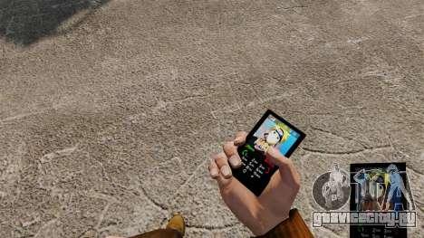 Тема для телефона Naruto для GTA 4