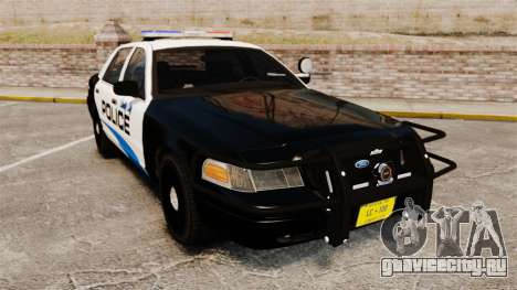 Ford Crown Victoria Police Interceptor [ELS] для GTA 4