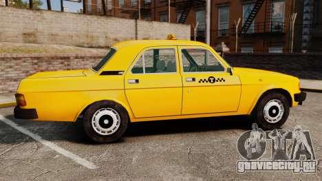 ГАЗ-31029 такси для GTA 4 вид слева