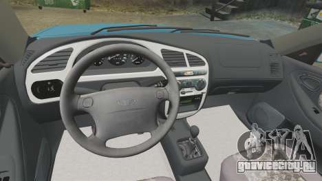 Daewoo Lanos PL 2001 для GTA 4 вид сбоку