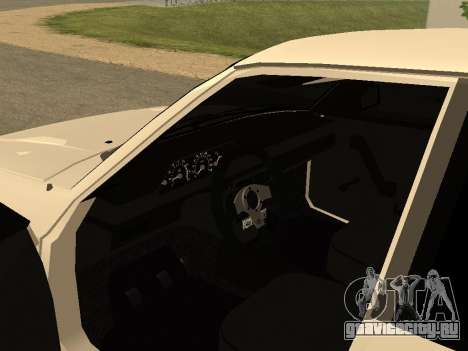 Москвич 2141 для GTA San Andreas вид сзади