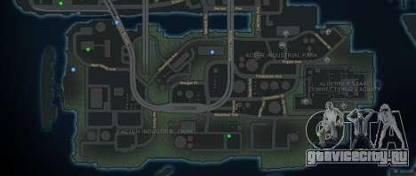CG4 Radar Map v1.1 для GTA 4 второй скриншот