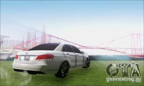 Mercedes-Benz W212 AMG v2.0 для GTA San Andreas вид слева