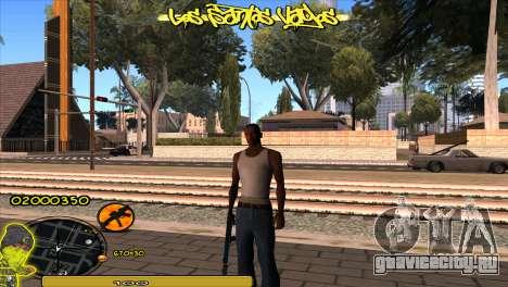 C-HUD Vagos для GTA San Andreas