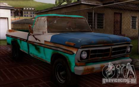 Ford F-150 Old Crate Edition для GTA San Andreas вид сзади слева