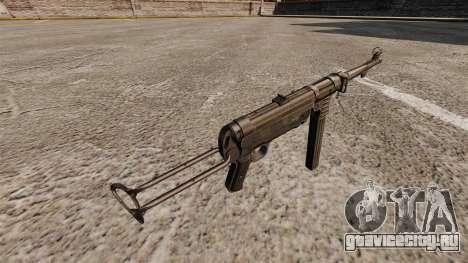 Пистолет-пулемёт MP 40 для GTA 4 второй скриншот