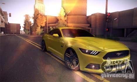 Ford Mustang 2015 Swag для GTA San Andreas