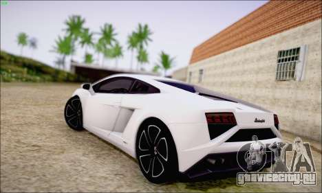 Lamborghini Gallardo LP560-4 2013 для GTA San Andreas вид сзади слева
