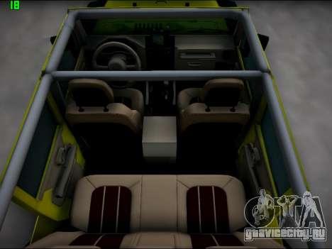 Jeep Wrangler Unlimited 2007 для GTA San Andreas вид сбоку
