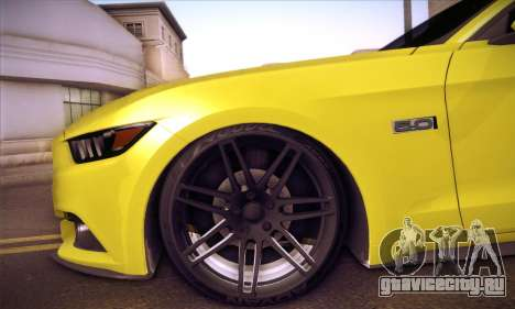 Ford Mustang 2015 Swag для GTA San Andreas вид сбоку