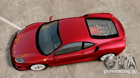 Ferrari F430 Scuderia 2007 для GTA 4 вид справа