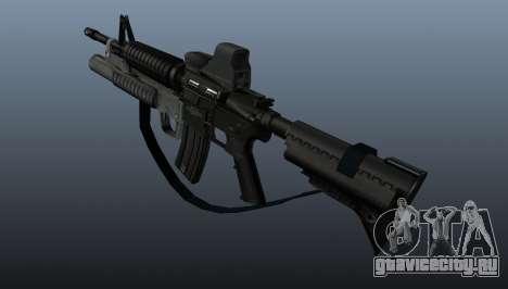 Автоматический карабин M4A1 v3 для GTA 4 второй скриншот
