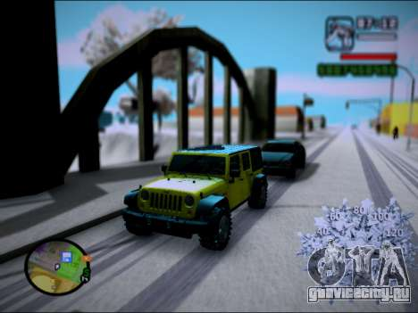 Jeep Wrangler Unlimited 2007 для GTA San Andreas