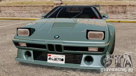 BMW M1 [EPM] для GTA 4 салон