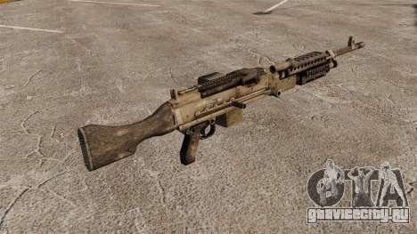 Единый пулемёт M240B для GTA 4 второй скриншот