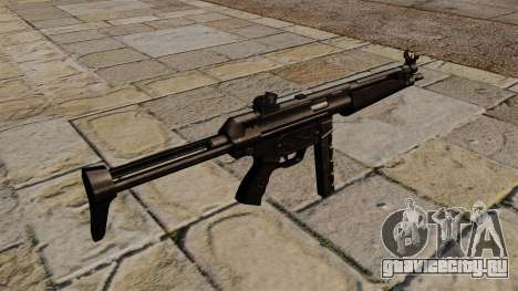 Пистолет-пулемёт MP5 чёрный сталкер для GTA 4 второй скриншот