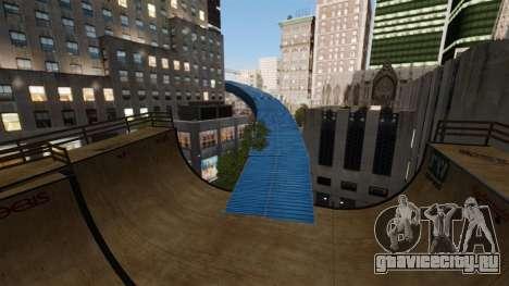 Algonquin Stunt Ramp для GTA 4 четвёртый скриншот