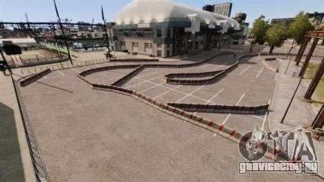 River Side Drift Track для GTA 4 второй скриншот