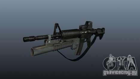 Автоматический карабин M4A1 v3 для GTA 4