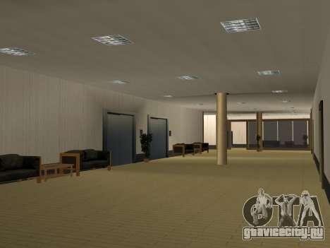 Новые текстуры интерьера Мэрии для GTA San Andreas девятый скриншот