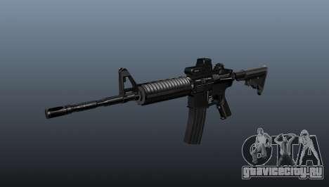 Автоматический карабин M4A1 Tactical для GTA 4