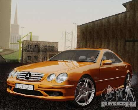 Mercedes-Benz CL65 для GTA San Andreas вид сзади слева