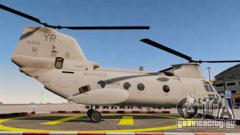 Boeing CH-46D Sea Knight для GTA 4 вид слева