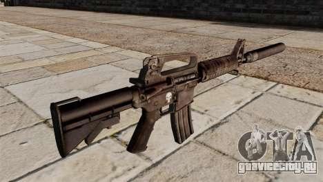 Автомат M4 SMG с глушителем для GTA 4 второй скриншот
